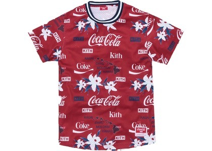 Kith x Coca-Cola x Mitchell & Ness BP Hawaii Jersey Redの写真