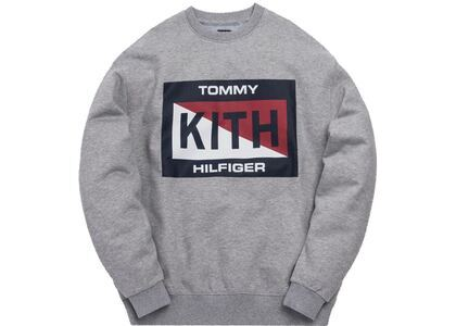 Kith x Tommy Hilfiger Slash Logo Crewneck Greyの写真