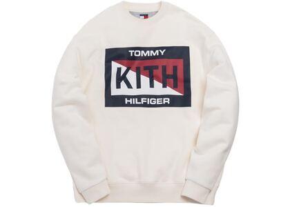 Kith x Tommy Hilfiger Slash Logo Crewneck Creamの写真