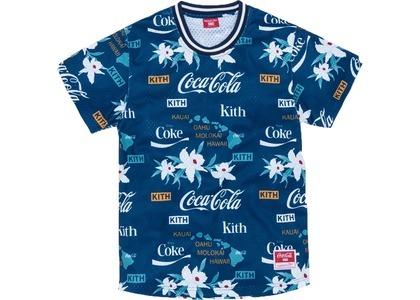 Kith x Coca-Cola x Mitchell & Ness BP Hawaii Jersey Blueの写真
