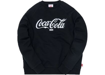 Kith x Coca-Cola Crewneck Blackの写真