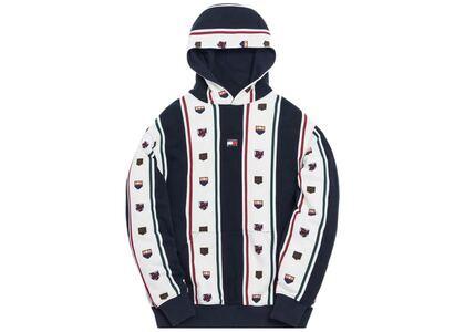 Kith x Tommy Hilfiger Stripe Hoodie Navy/Whiteの写真