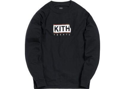 Kith Treats Ice Cream Sandwich L/S Tee Blackの写真