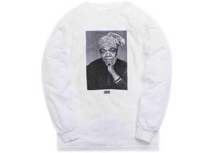 Kith Maya Angelou L/S Tee Whiteの写真