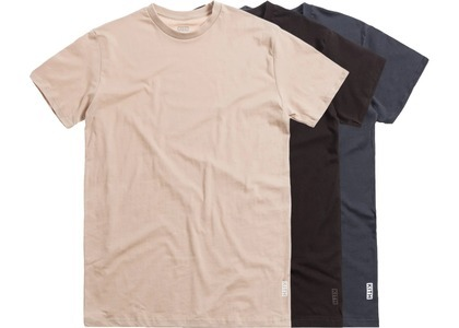Kith Undershirt (3 Pack) Feather Grey/Ebony/Espressoの写真