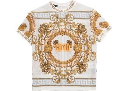 Kith x Versace Women's Lion Mesh Top Whiteの写真