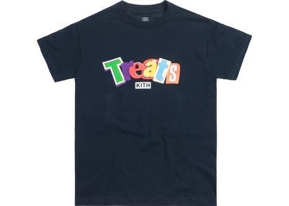 Kith Treats Cereal Day Tee Navyの写真