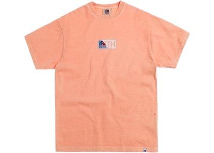 Kith x Russell Athletic Vintage Tee Peachの写真