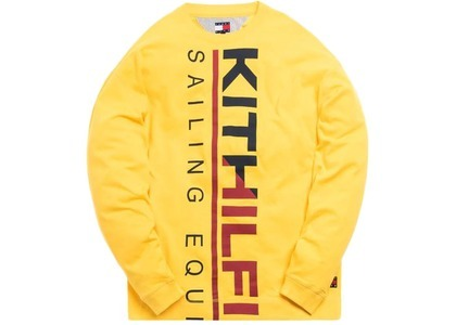 Kith x Tommy Hilfiger Sailing L/S Tee Yellowの写真