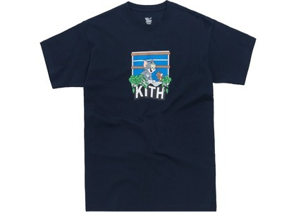 Kith x Tom & Jerry Hang Out Tee Navyの写真