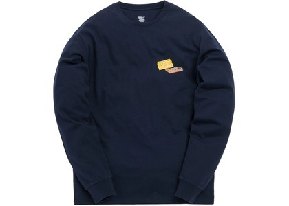 Kith x Tom & Jerry L/S Cheese Tee Navyの写真