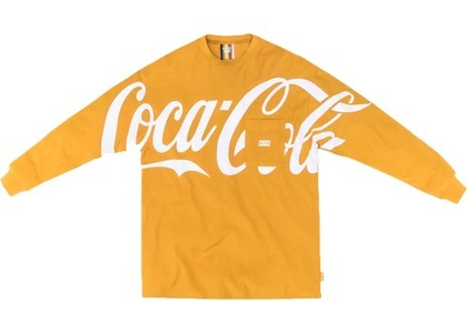 Kith x Coca-Cola Quinn L/S Tee Yellowの写真