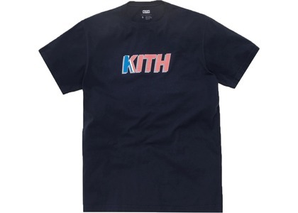 Kith Stars Tee Navyの写真