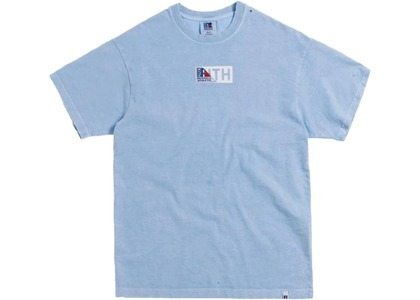 Kith x Russell Athletic Vintage Tee Chambray Blueの写真