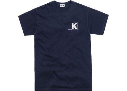 Kith Blueprint Tee Navyの写真