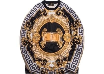 Kith x Versace Lion Tricot Crewneck Black/Goldの写真