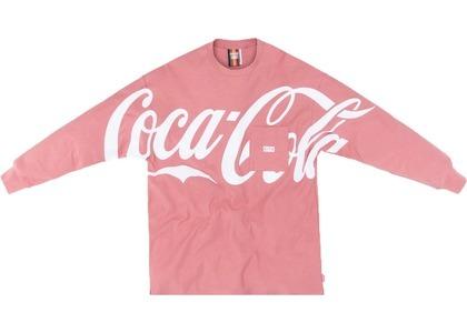 Kith x Coca-Cola Quinn L/S Tee Pinkの写真