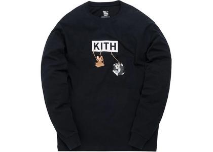 Kith x Tom & Jerry L/S Friends Tee Blackの写真