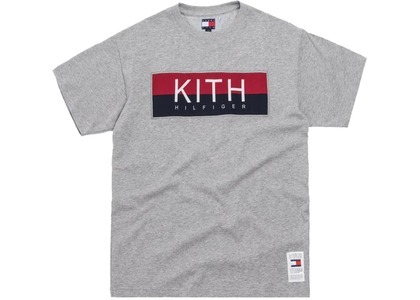 Kith x Tommy Hilfiger Logo Tee Greyの写真