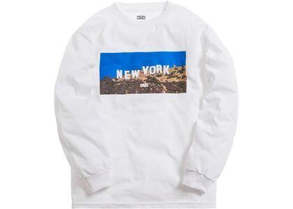 Kith New York Hollywood L/S Tee Whiteの写真