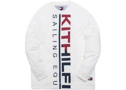 Kith x Tommy Hilfiger Sailing L/S Tee Whiteの写真