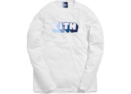 Kith x Bearbrick Logo L/S Tee Whiteの写真