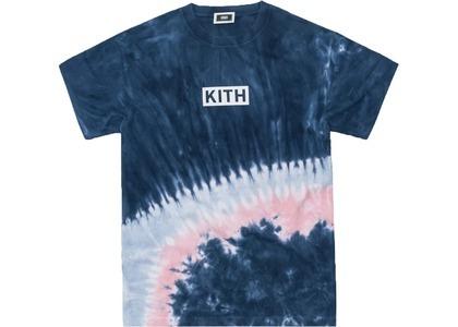 Kith Summer Tie Dye Tee Blue/Pinkの写真