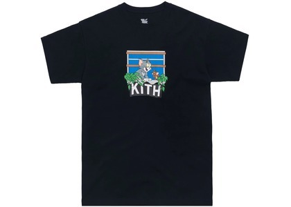 Kith x Tom & Jerry Hang Out Tee Blackの写真