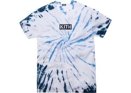 Kith Summer Tie Dye Tee Blue/Whiteの写真