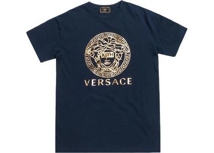 Kith x Versace Medusa Tee Navyの写真