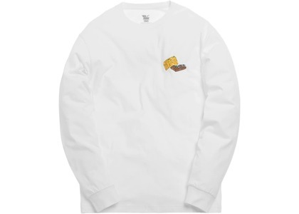 Kith x Tom & Jerry L/S Cheese Tee Whiteの写真