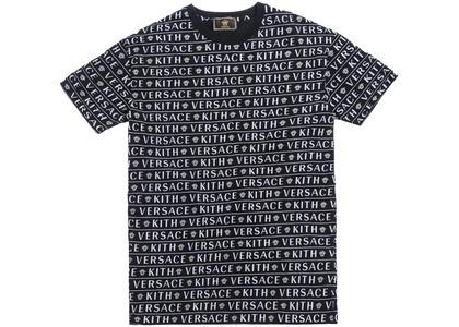 Kith x Versace Monogram Tee Blackの写真