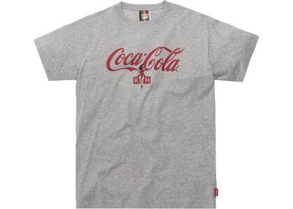 Kith x Coca-Cola Hula Tee Heather Greyの写真