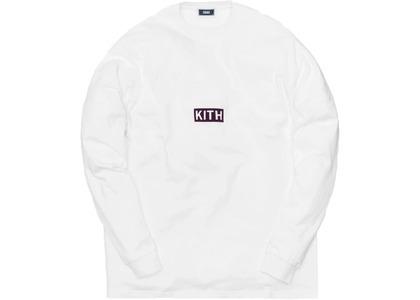 Kith Track Paneled L/S Tee Whiteの写真