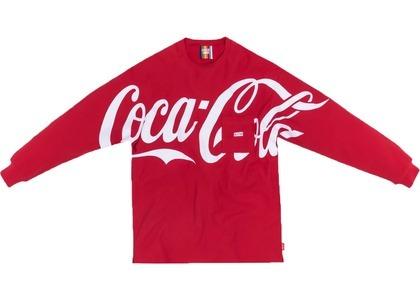 Kith x Coca-Cola Quinn L/S Tee Redの写真
