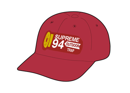 Supreme Shell Patch 6-Panel Redの写真