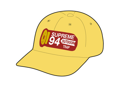 Supreme Shell Patch 6-Panel Limeの写真