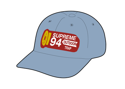 Supreme Shell Patch 6-Panel Denimの写真
