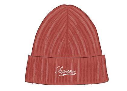 Supreme Bleached Rib Beanie Burnt Orangeの写真
