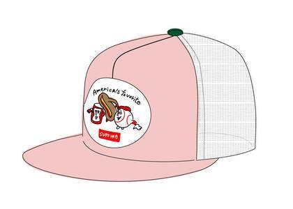 Supreme America's Favorite Mesh Back 5-Panel Pinkの写真