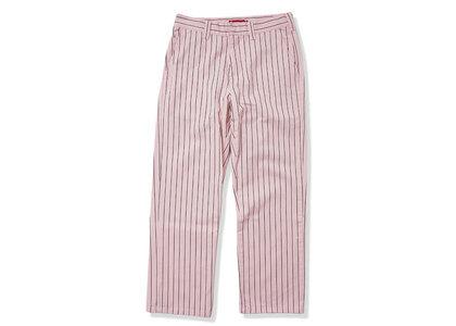 Supreme Work Pant (SS21) Light Pink Stripeの写真