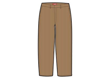 Supreme Work Pant (SS21) Brown Stripeの写真