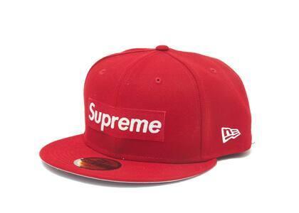 Supreme Champions Box Logo New Era Redの写真