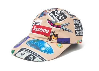 Supreme GORE-TEX Long Bill Camp Cap (SS21) Tan Stickersの写真