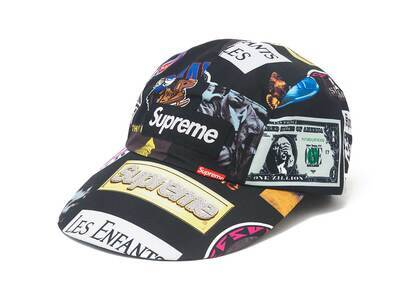 Supreme GORE-TEX Long Bill Camp Cap (SS21) Black Stickersの写真