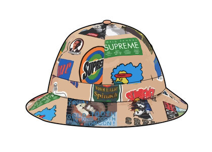 Supreme GORE-TEX Bell Hat Tan Stickersの写真