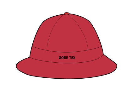 Supreme GORE-TEX Bell Hat Redの写真
