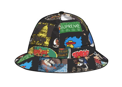 Supreme GORE-TEX Bell Hat Black Stickersの写真