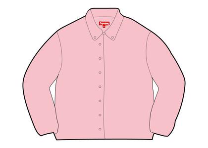 Supreme Stripe Oxford Shirt Redの写真