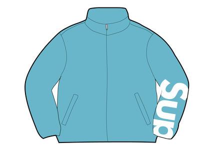 Supreme Spellout Track Jacket Aquaの写真